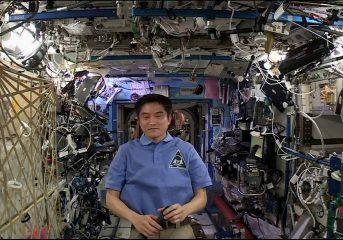 大西宇宙飛行士が宇宙から日本の人達とをウェブシステムで結ぶ!