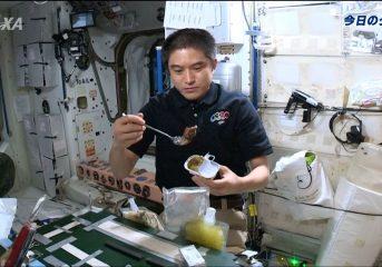 宇宙「和食」を大西宇宙飛行士が紹介!
